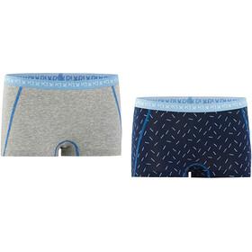Kari Traa Bennvakker Ondergoed onderlijf Dames 2 Pieces grijs/blauw